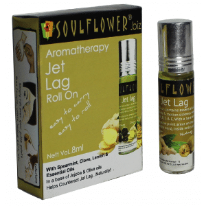 Buy Soulflower Aromatherapy Jet Lag Roll On - Nykaa
