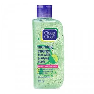 Buy Clean & Clear Morning Energy Face Wash Purifying Apple - Nykaa