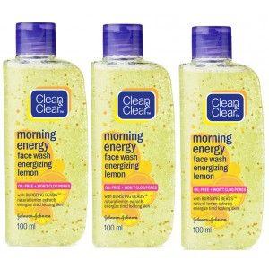 Buy Clean & Clear Morning Energy Combo - Lemon - Nykaa