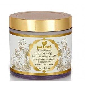 Buy Just Herbs Herbal Nourishing Massage Cream - Nykaa