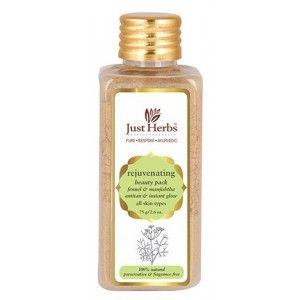 Buy Just Herbs Fennel And Manjishtha Rejuvenating Beauty Pack - Nykaa