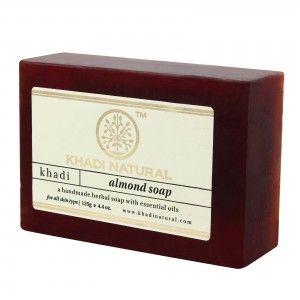 Buy Khadi Natural Almond Soap - Nykaa