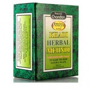 Buy Khadi Natural Herbal Black Mehndi - Nykaa