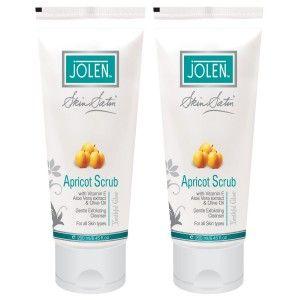 Buy Jolen Apricot Scrub - Twin Pack - Nykaa