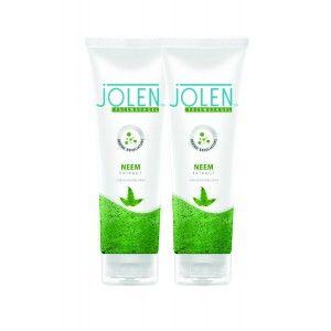 Buy Jolen Neem Face Wash Twin Pack - Nykaa