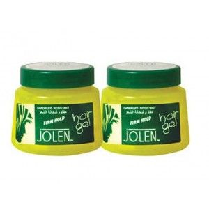 Buy Jolen Firm Hold Hair Gel Twin Pack - Nykaa