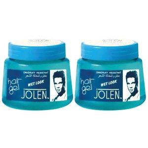 Buy Jolen Wet Look Hair Gel Twin Pack - Nykaa