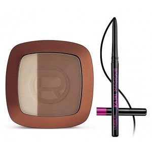 Buy L'Oreal Paris Glam Bronze Duo - 102 Harmonie Brunes + Free Kajal Magique - Nykaa