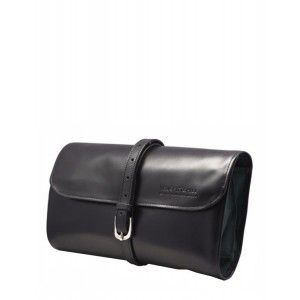 Buy Truefitt & Hill Leather Travel Roll-Up Wet Pack - Black - Nykaa