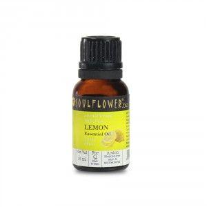 Buy Soulflower Lemon Essential Oil - Nykaa