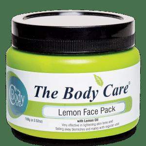 Buy The Body Care Lemon Face Pack - Nykaa