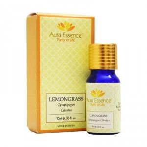 Buy Aura Essence Pure Lemograss Essential Oil - Nykaa