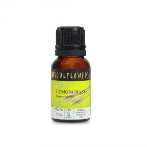 Buy Soulflower Lemongrass Essential Oil - Nykaa