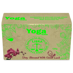 Buy Yoga India Pure Essential Oil Natural Body Gardenia & Orchid Rose Soap - Libra - Nykaa