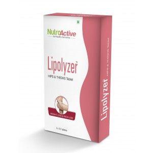 Buy NutroActive Lipolyzer Hips & Thighs Tablet - Nykaa