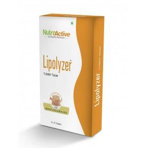 Buy NutroActive Lipolyzer Tummy Tablet - Nykaa