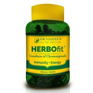 Buy Dr. Vaidya's Herbofit Immunity and Energy Booster (30 Caps) - Nykaa