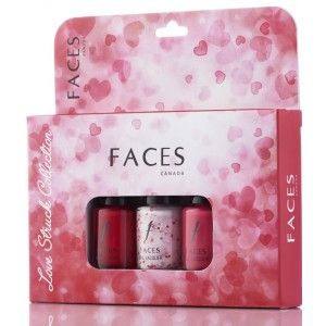 Buy Faces Nail Lacquer Kit - Love Struck Collection - Nykaa