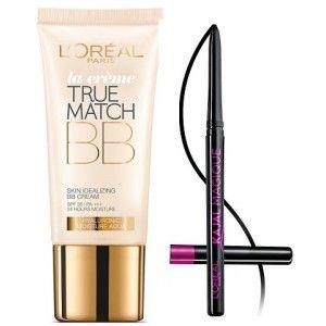 Buy L'Oreal Paris True Match BB Cream - Honey + Free Kajal Magique - Nykaa