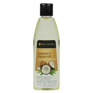 Buy Soulflower Coldpressed Coconut Pure Natural Carrier Oil - Nykaa