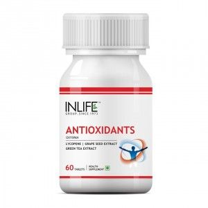 Buy INLIFE Antioxidants, 60 Tablets with Lycopene, Immune Booster Supplement - Nykaa