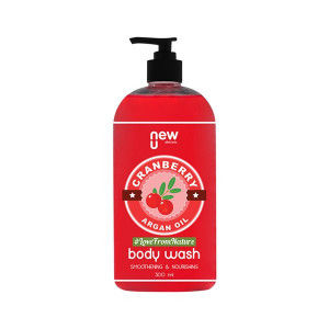 Buy NewU Cranberry Argan Oil Body Wash - Nykaa