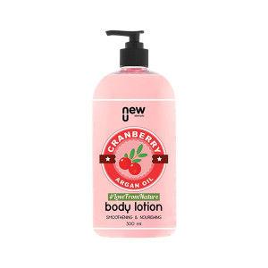 Buy NewU Cranberry Argan Oil Body Lotion - Nykaa