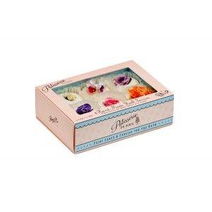 Buy Patisserie de Bain Handmade Bath Fancies Mixed Window Gift Box - 6 Pieces - Nykaa