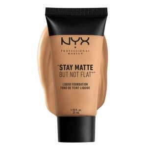 Buy NYX Professional Makeup Stay Matte But Not Flat Liquid Foundation - Nykaa