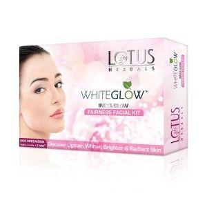 Buy Lotus Herbals Whiteglow Insta Glow Fairness Facial Kit - Nykaa