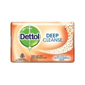 Buy Dettol Deep Cleanse Soap - Nykaa