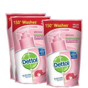 Buy Dettol Skincare Liquid Handwash 175 ml (Buy 2 Get 1 Free)(Off Rs.54) - Nykaa