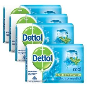 Buy Dettol Cool Soap (Buy 3 Get 1 Free) (Off Rs.31) - Nykaa