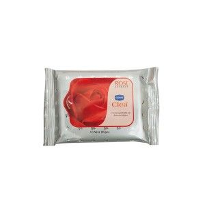 Buy Ginni Clea Cleansing & Makeup Remover Wet Wipes - Rose (10 Wipes) - Nykaa