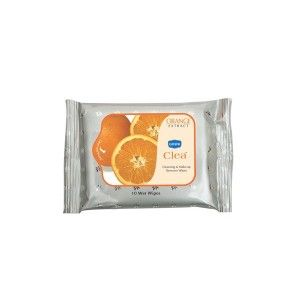 Buy Ginni Clea Cleansing & Makeup Remover Wet Wipes - Orange (10 Wipes) - Nykaa