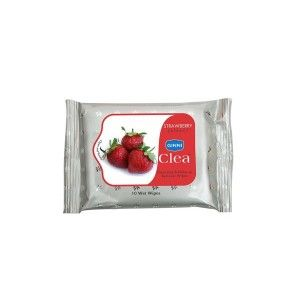 Buy Ginni Clea Cleansing & Makeup Remover Wet Wipes - Strawberry (10 Wipes) - Nykaa