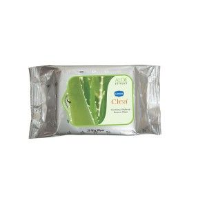 Buy Ginni Clea Cleansing & Makeup Remover Wet Wipes - Aloevera (30 Wipes) - Nykaa