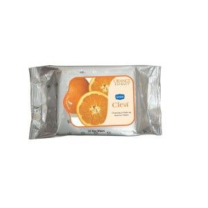 Buy Ginni Clea Cleansing & Makeup Remover Wet Wipes - Orange (30 Wipes) - Nykaa