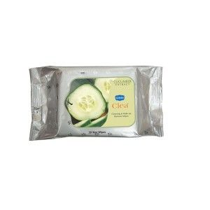 Buy Ginni Clea Cleansing & Makeup Remover Wet Wipes - Cucumber (30 Wipes) - Nykaa