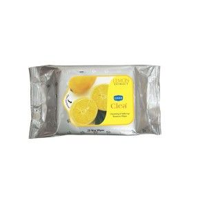 Buy Ginni Clea Cleansing & Makeup Remover Wet Wipes - Lemon (30 Wipes) - Nykaa