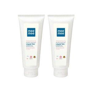 Buy Mee Mee Smooth Liquid Talc (Pack of 2) White - Nykaa