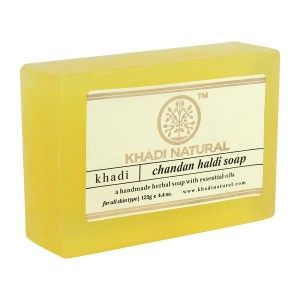 Buy Khadi Natural Chandan Haldi Soap - Nykaa