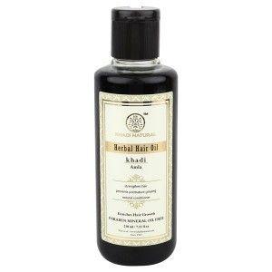 Buy Khadi Natural Pure Amla Herbal Hair Oil - Nykaa