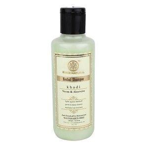 Buy Khadi Natural Shampoo Neem & Aloe Vera - Nykaa