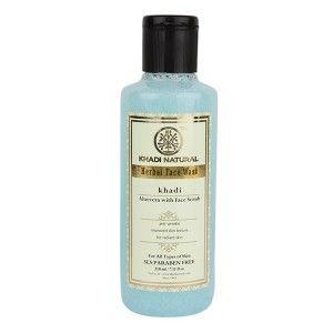 Buy Khadi Natural Aloe Vera Face Wash With Scrub - Nykaa