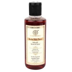 Buy Khadi Natural Thyme Henna Hair Tonic (Hair Regrowth Tonic. A Water Based Product) - Nykaa
