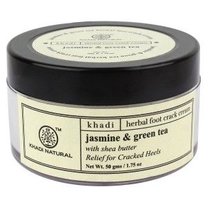Buy Khadi Natural Jasmine Green Tea Foot Crack Cream - Nykaa