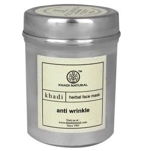 Buy Khadi Natural Anti Wrinkle Face Mask - Nykaa