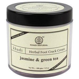 Buy Khadi Natural Jasmine Green Tea Foot Crack Cream - Nykaa