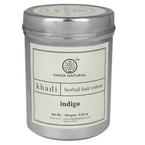 Buy Khadi Natural Hair Color Indigo - Nykaa